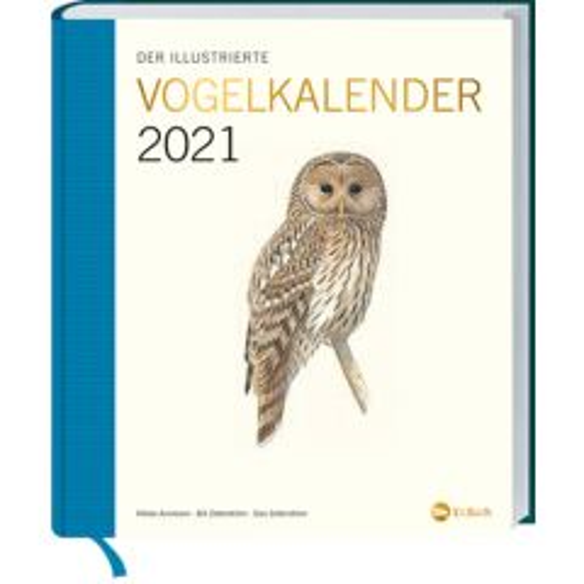 Der illustrierte Vogelkalender 2021