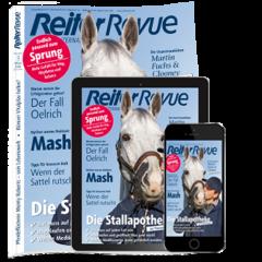 Digital-Upgrade für Reiter Revue Print-Abonnenten