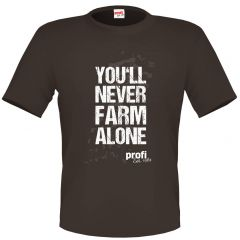 profi T-Shirt You'll never farm alone